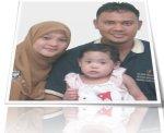 Adik Amira & Keluarga