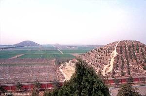 The Xi'an Pyramids